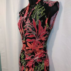 Vince Camuto Tops - Vince Camuto Floral Tropical Sleeveless top